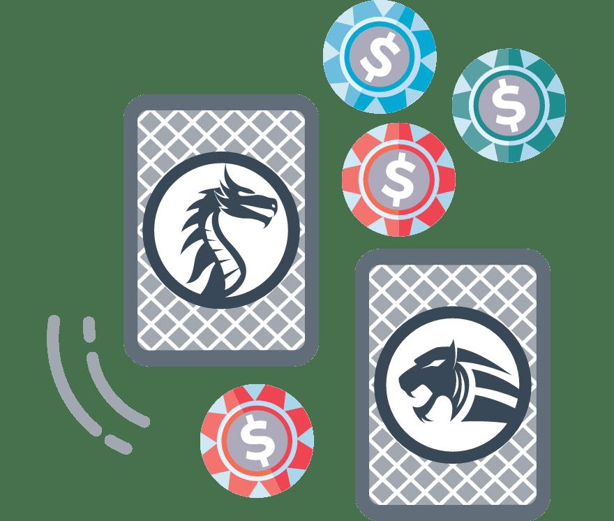 Hrajte Dragon Tiger online – Top  najlepšie platiacich Mobilné Kasíno 2021